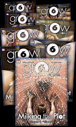 grOw/cOmic#6 Collection, issues 1-7